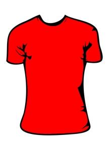 disegno-maglietta-rossa-per-bambina-colorato